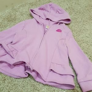 GYMBOREE Zip Up Sweater with Cat Hood